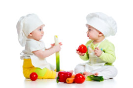 babies healthy eating